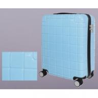 X576 スマートフォン充電用コネクタ搭載スーツケース(スカイブルー)