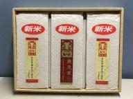【令和2年産米】A9101 湯沢産 無洗米あきたこまち900g×3袋