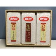 【令和元年産米】A9101 湯沢産 無洗米あきたこまち900g×3袋