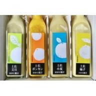 ★土佐の果実100%果汁ジュース4本セット C-143
