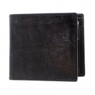 SOMES WF-03 2つ折財布(ブラック)