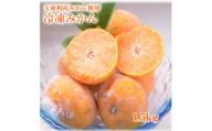 冷凍みかん 1.5kg 《2月下旬-3月下旬頃より順次出荷》 玉東町産みかん使用 みかん 冷凍 フルーツ 果物 お中元 贈答 ギフト