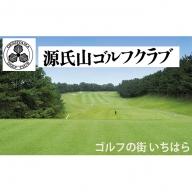 源氏山ゴルフクラブ平日1R・1名様セルフ「昼食付き」プレー券 ×2枚