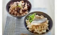 国東海鮮の炊き込みご飯セット(たこめし&鯛めしの素)・通