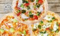 AZ25◇最高の淡路島食材を使った手作りピザ 豪華 海セット(3枚)