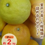 RK043【訳あり】柑橘詰め合わせセット(約2kg)