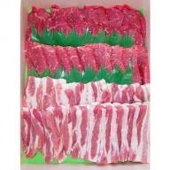 上州牛肩・上州牛モモ焼肉・上州豚とことん焼肉セット