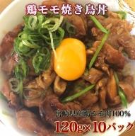 AA-1511_鶏モモ焼き鳥丼10食