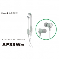 【AUDIOFLY】ワイヤレスイヤホングリーン/AF33WMK2