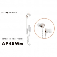 【AUDIOFLY】ワイヤレスイヤホンホワイト/AF45WMK2