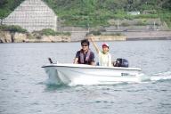 ボートフィッシング体験ができる!船舶免許不要の2馬力レンタルボート