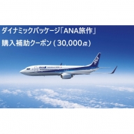 北海道千歳市  ダイナミックパッケージ「ANA旅作」購入補助クーポン(30,000点)