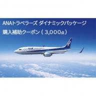 沖縄県竹富町 ダイナミックパッケージ「ANA旅作」購入補助クーポン(3,000点)