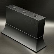 トッティフラワーベース02 ブラックカラー