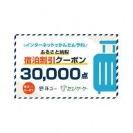 袋井市 旅ゴー!クーポン(30,000点)