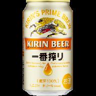 D012 キリン一番搾り生ビール(350ml缶) 1ケース