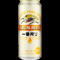 D016 キリン一番搾り生ビール(500ml缶) 1ケース