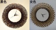 竹編みオリジナルデザイン時計