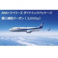 北海道倶知安町 ダイナミックパッケージ「ANA旅作」購入補助クーポン(3,000点)