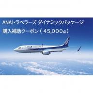 沖縄県竹富町 ダイナミックパッケージ「ANA旅作」購入補助クーポン(45,000点)