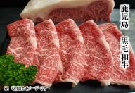 鹿児島県産黒毛和牛リブロースすき焼き・しゃぶしゃぶ用+牛すじだらけのカレーセット