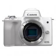 キヤノンミラーレスカメラ(EOS Kiss M・ボディー/ホワイト)