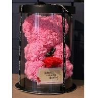 いけがわ生花店 2020母の日くまさんフェイクフラワーBOX(地域・期間・数量限定)
