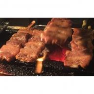市原タパスの豚旨味噌焼、豚塩麴焼+牛タンつくね