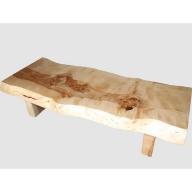 【35】座卓(テーブル)マカバ・一枚天板【厚さ約7.5cm】