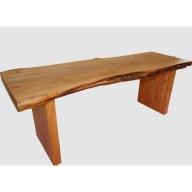 【37】座卓(テーブル)ハン・一枚天板【厚さ約4.5cm】