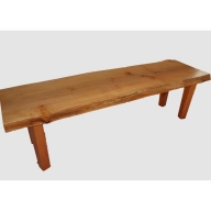【38】座卓(テーブル)ハン・一枚天板【厚さ約4.2cm】