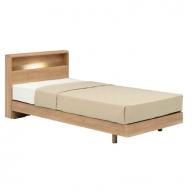 ベッド PR70-06C (LG) マットレスZT-030(シングル)I-127