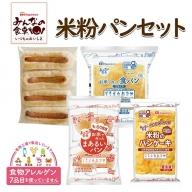 SA0348 《みんなの食卓》 ごちそう米粉パンセット