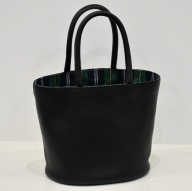 92‐5 鞄職人が手掛ける【PAGOTタータン バケツバッグ】