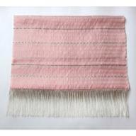 【母の日ギフト専用】MB-8804_大島紬の手織りショール(ピンク)