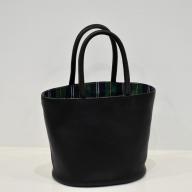 【母の日ギフト専用】92‐5 鞄職人が手掛ける【PAGOTタータン バケツバッグ】