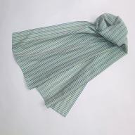 【母の日ギフト専用】AD-8801_綿絹織物のマフラー(ライトブルー)