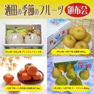 SE0045 酒田の季節のフルーツ頒布会