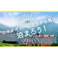 ホテルグリーンプラザ白馬に泊まろう!小谷村宿泊補助券10,000円分