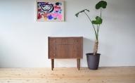家具職人が作った かわいい おしゃれな 木製 3段チェスト(黒)