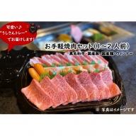 【A92011】お手軽焼肉セット(1~2人前)+牛すじだらけのカレーセット