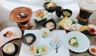 椿寿荘本郷温泉平日限定( 1泊2食付夕食会席・朝食和食べア宿泊チケット)