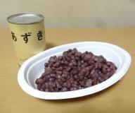 無糖 国産あずき水煮380g×3