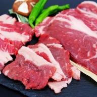 北海道雄別産 ゆうべつ牛ステーキ・焼き肉セットC