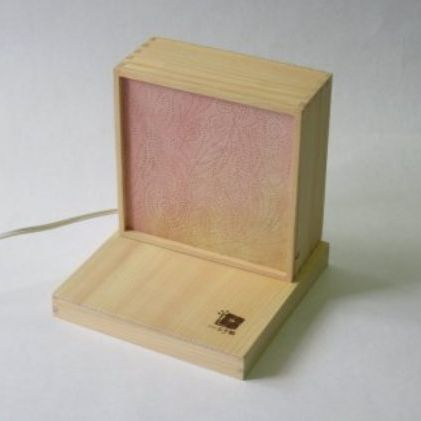 はんのう玉手箱 「テンテンランプ」 グラデーション(ピンク)