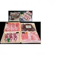 【B02060】特選黒豚(約1.3kg)・黒豚焼豚(2個)・冷凍やきいも(約800g)セット