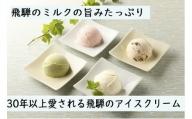 <牧成舎>飛騨のミルクの旨みたっぷりアイスクリーム 12個セット[B0004]