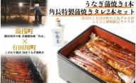 BC6002_うなぎ蒲焼4本&角長特製蒲焼タレ2本セット【湯浅町×有田川町】