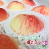 AB7019_【夏の美味】フルーツ王国 和歌山の桃 約4kg