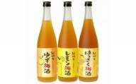 V6100_紀州かんきつ梅酒 720ml×3本セット(B002)